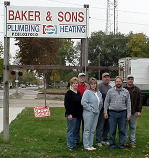 Baker and Sons Plumbing and Heating, Inc.